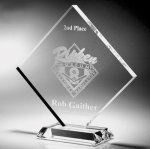Clear Diamond Acrylic Award Diamond Awards