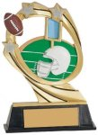 Football Cosmic Resin Trophy Football Trophy Awards
