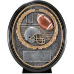 Football Resin Oval Football Trophy Awards