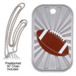 Football Dog Tag Football Trophy Awards