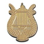 Music Lyre Chenille Pin Lapel Pins