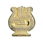Chorus Chenille Pin Music Trophy Awards