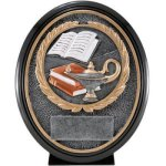 Lamp Of Knowledge Res. Ova Scholastic Trophy Awards