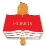 Honor Lapel Pin Scholastic Trophy Awards
