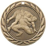 Wrestling FE Iron Medal Wrestling Trophy Awards